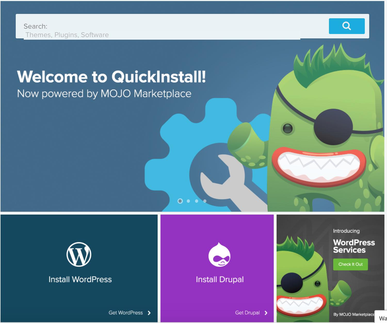 Installing WordPress on Hostgator for Writer's website