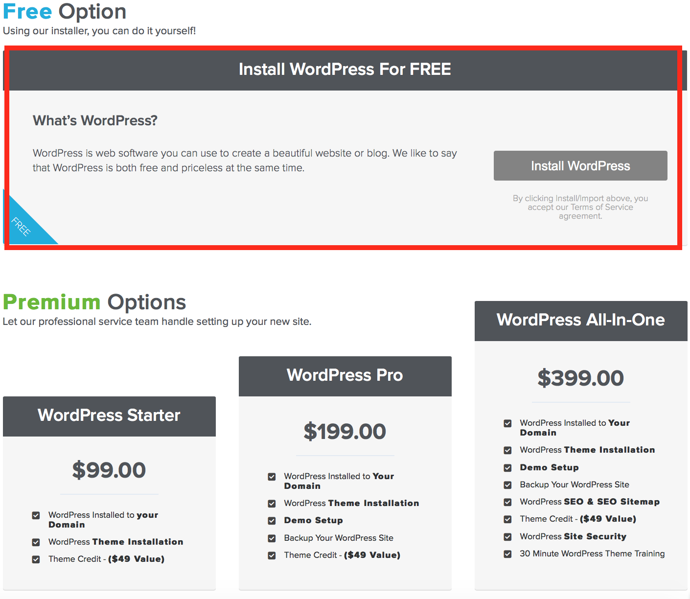 How to Install self hosted WordPress