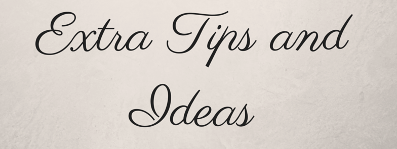 Extra tips for freelance writing work