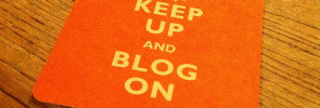freelance writer, keep up and blog on