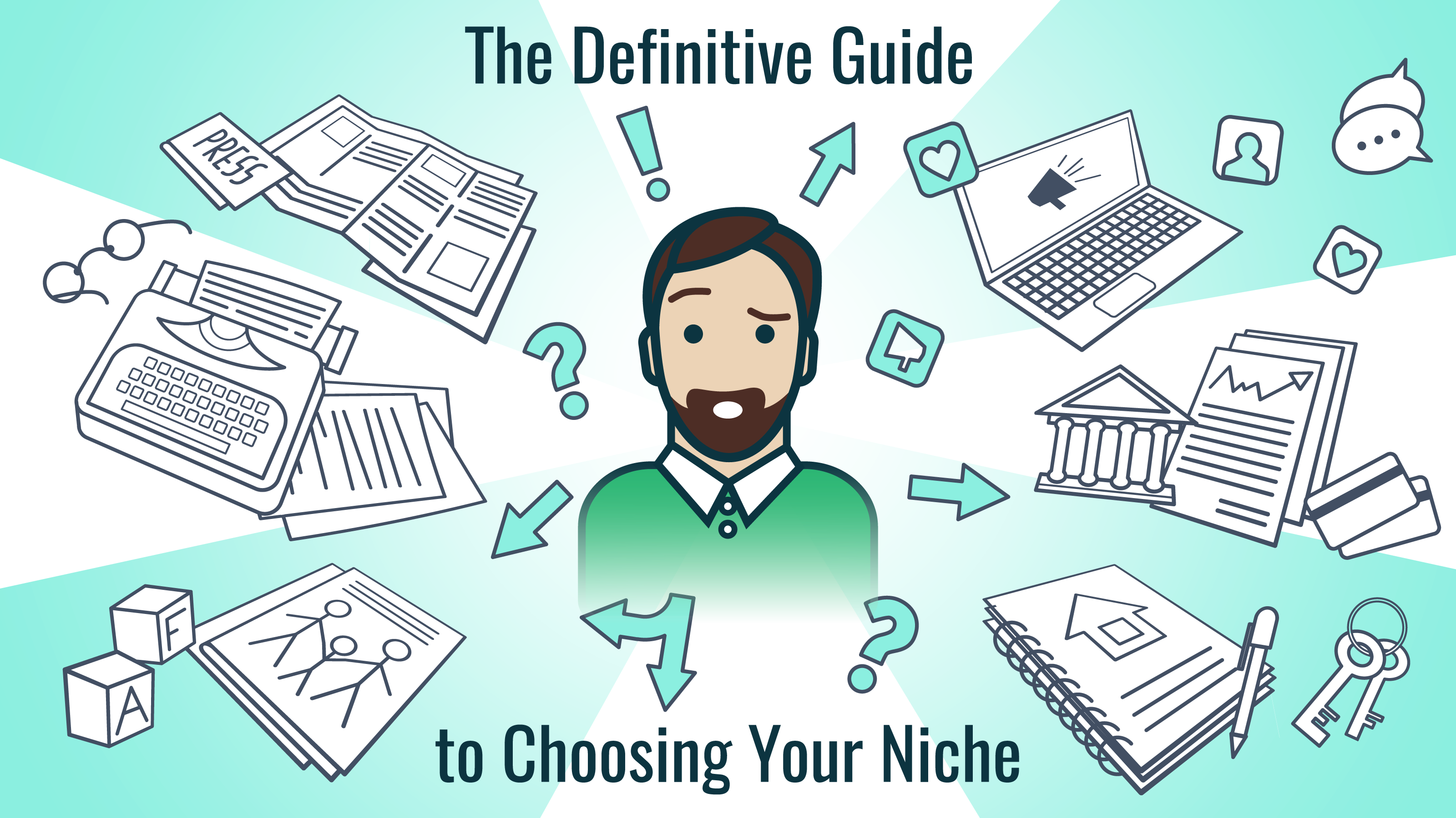 the definitive guide to choosing your lance writing niche