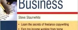 Steve slaunwhite start and run a copywriting business cover
